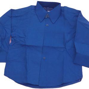 IMCB School Uniform Blue Shirt